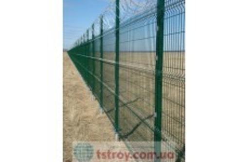 секции ограждения 3 D с полимерным покрытием, фото — «Реклама Севастополя»