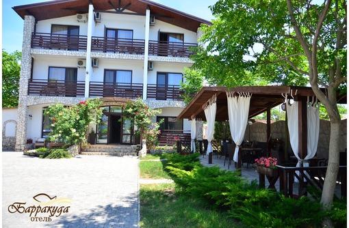 Барракуда, гостевой дом. Западный Крым, мыс Тарханкут, фото — «Реклама Черноморского»