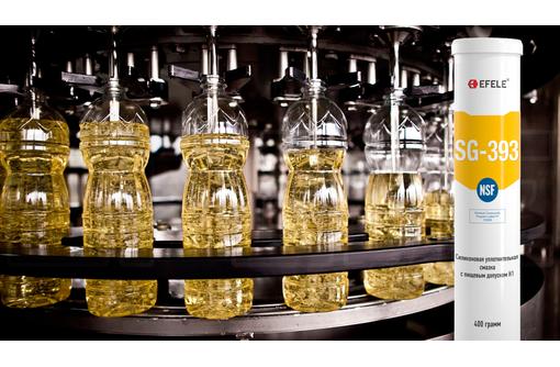 Силиконовая уплотнительная смазка EFELE SG-393 с пищевым допуском H1 (ПЭ дозатор, блистер 20 грамм), фото — «Реклама Севастополя»