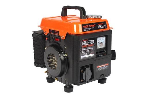 Переносной, компактный, инверторный генератор Patriot Max Power SRGE-1000iT, фото — «Реклама Ялты»