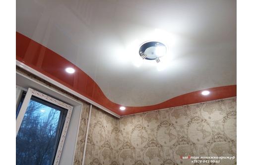 Комбинированные натяжные потолки LuxeDesign, фото — «Реклама Симферополя»
