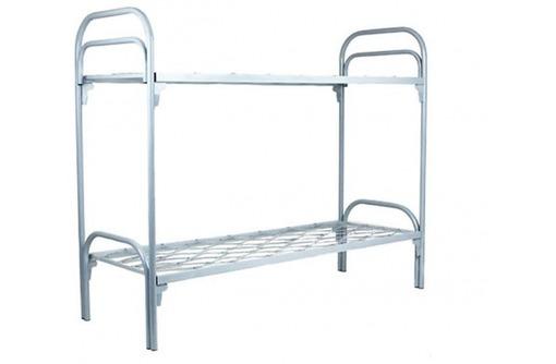 Кровати металлические для гостиниц, фото — «Реклама Алупки»