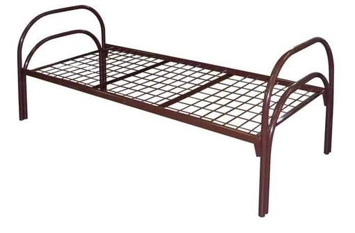 Металлические кровати для рабочих, фото — «Реклама Черноморского»