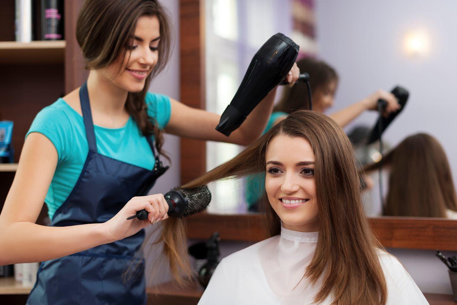 парикмахер фото работ