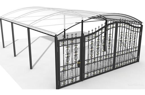 Металлоконструкции. Решётки. Заборы, фото — «Реклама Севастополя»