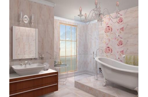 Облицовка стен и полов плиткой. Установка сантехники. Укладка ламината, фото — «Реклама Севастополя»