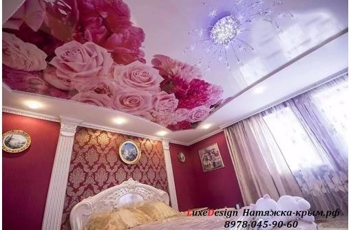 УФ  печать. художественные натяжные потолки и стены, фото — «Реклама Белогорска»