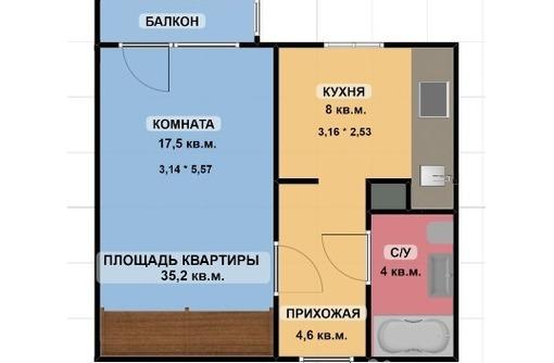 1-комнатная на Лермонтова, фото — «Реклама Симферополя»