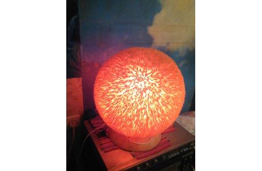 Эксклюзивный светильник –коралл с применением ручной работы.Эл.питание 220 В, фото — «Реклама Керчи»