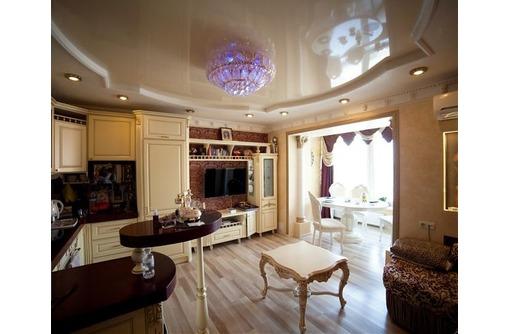 Натяжные потолки на кухне под ключ Европейское качество, фото — «Реклама Симферополя»