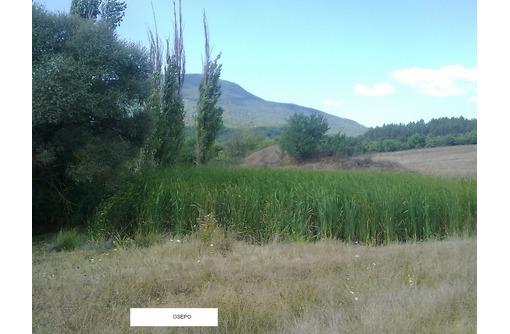 Продается земельный участок с озером ЛПХ 1га село Аромат Горный Крым, фото — «Реклама Бахчисарая»