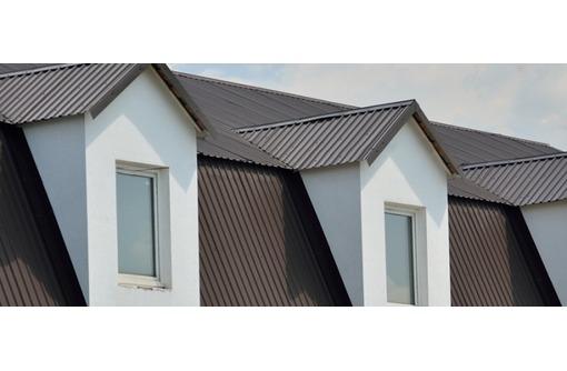 Профлист металлический и оцинкованный для крыш  и заборов, фото — «Реклама Алушты»