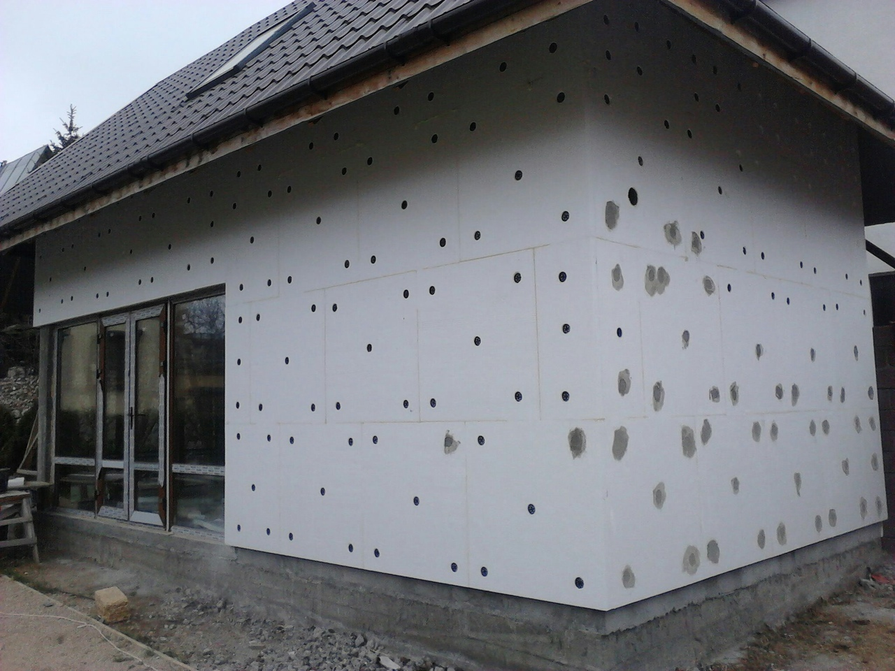 способ картинки фасада дома пенопласт представлены