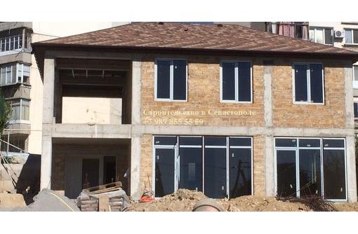 Строительство домов из газобетона и ракушечника - Севастополь, ЮБК, фото — «Реклама Севастополя»