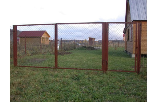 Садовые ворота от производителя, фото — «Реклама Севастополя»