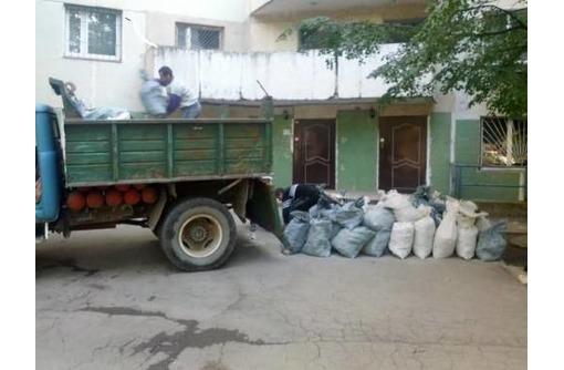 Вывоз мусора, грунта, бута, старую мебель и любой хлам, фото — «Реклама Севастополя»