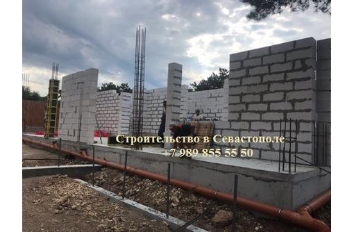 Строительство домов из газобетона в Севастополе, фото — «Реклама Севастополя»