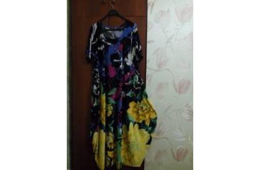 Продам яркое модное летнее платье 60 размер., фото — «Реклама Севастополя»