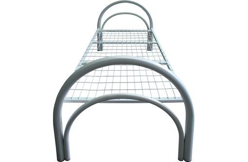 Кровати на металлических ножках, металлические 2х ярусные кровати, кровать металлическая с матрасом, фото — «Реклама Фороса»