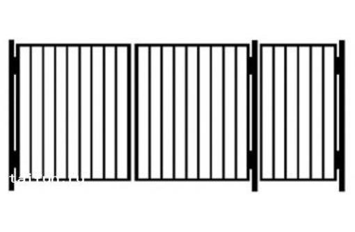 Продаем садовые металлические ворота, фото — «Реклама Коктебеля»