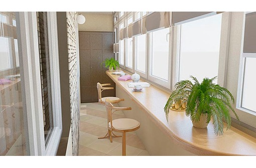 """Внутренняя и внешняя отделка балконов, лоджий """"под ключ""""., фото — «Реклама Севастополя»"""