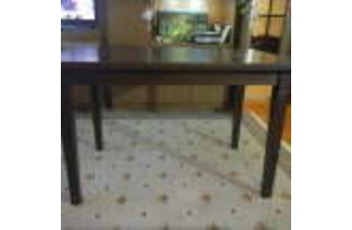 обеденный стол-трансформер из бука, фото — «Реклама Ялты»