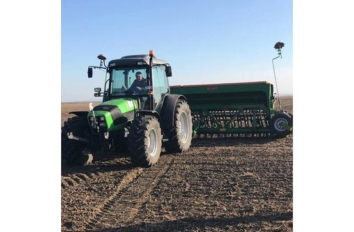 Сельхозуслуги по дискованию, глубокорыхлению, посеву, внесению удобрений, уборке урожая в Крыму, фото — «Реклама Красногвардейского»