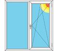 Окно фирмы Rехау размером 1280*1340 - Окна в Севастополе