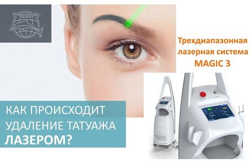 Лазерное удаление тату (татуажа) в центре МЕДИКАЛПОРТ, фото — «Реклама Севастополя»