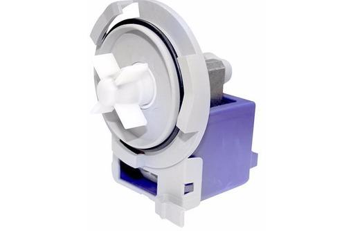 Сливной насос (помпа) для стиральных и посудомоечных машин Bosch/Siemens GRE 959 3 защелки PMP022BO, фото — «Реклама Севастополя»