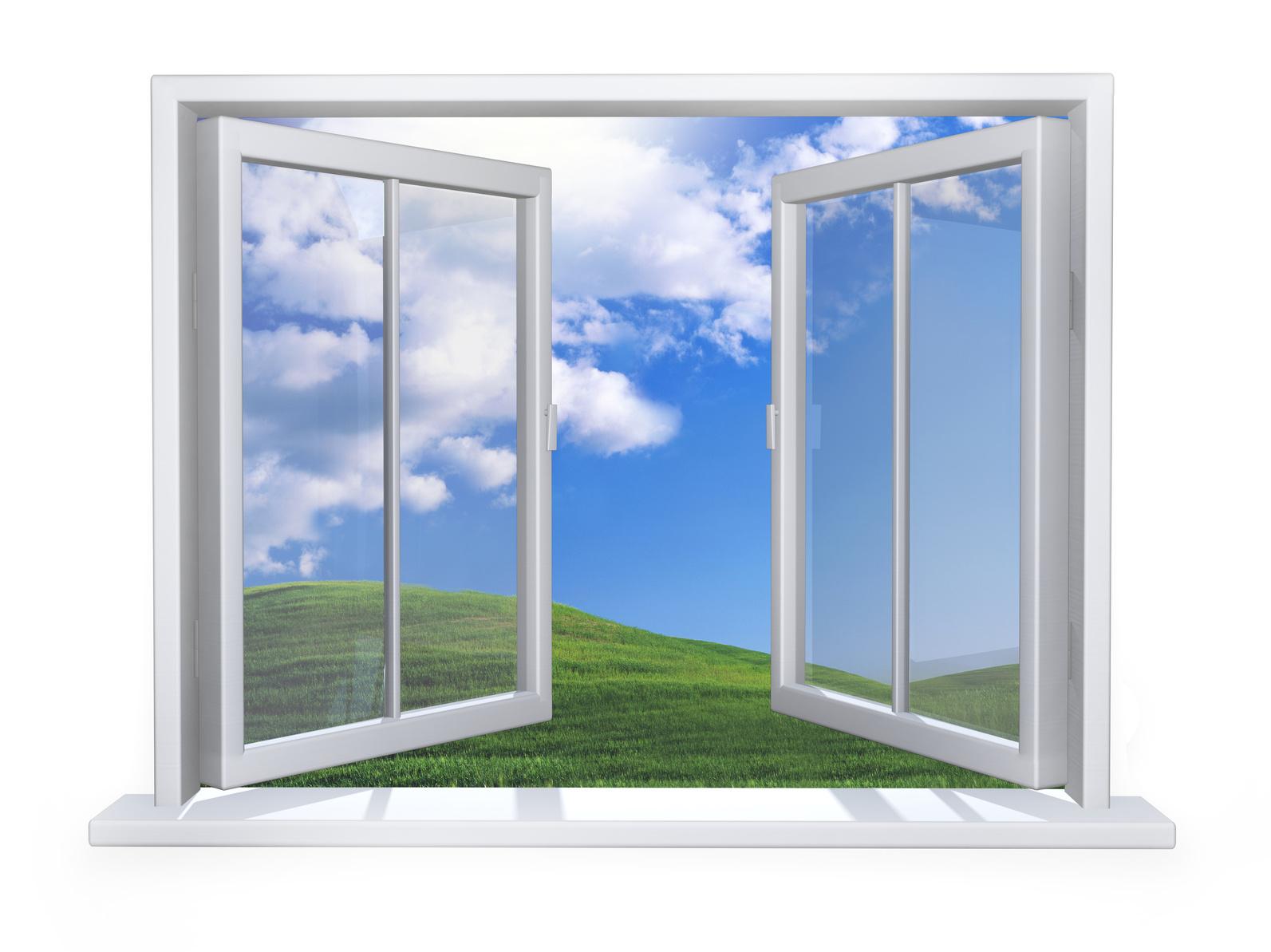 Картинка окно для детей на белом фоне