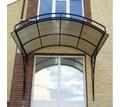 Проектирование и установка козырьков и навесов из поликарбоната - Металл, металлоизделия в Симферополе