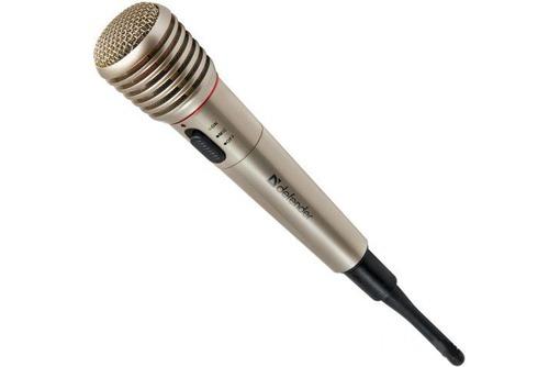 Микрофон Defender MIC-140   в упаковке с документами, фото — «Реклама Симферополя»