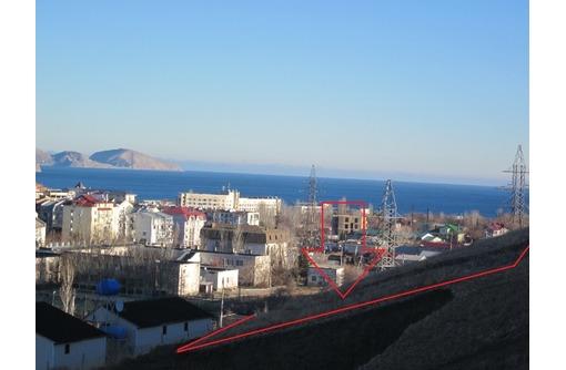 Участок в Коктебеле с видом на море, фото — «Реклама Коктебеля»