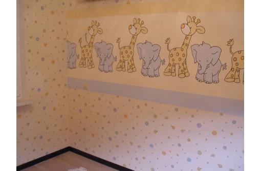 Качественная поклейка обоев на стены и потолки, фото — «Реклама Севастополя»