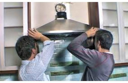 Установка и ремонт кухонных плит, духовок, вытяжек, фото — «Реклама Севастополя»