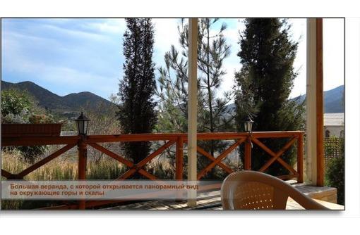Дом с верандой на видовом участке не далеко от моря в пос. Весёлое, фото — «Реклама Судака»