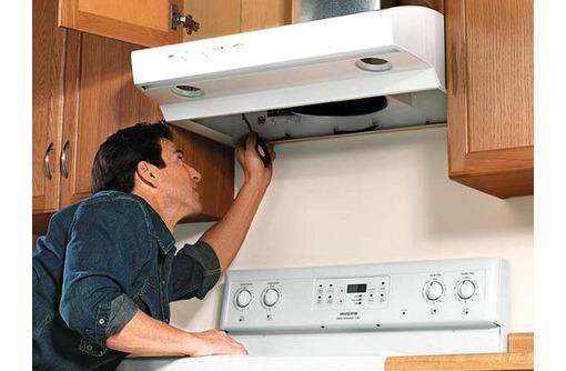 Подключение и ремонт газовых плит, духовых шкафов, кухонных вытяжек, фото — «Реклама Севастополя»