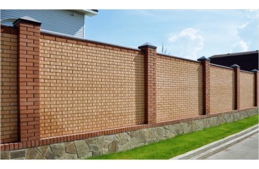 Проектирование, строительство и установка заборов, фото — «Реклама Севастополя»