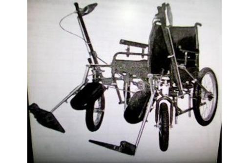 Кресло колесное дорожное складное ДККС-8-04-46, фото — «Реклама Севастополя»