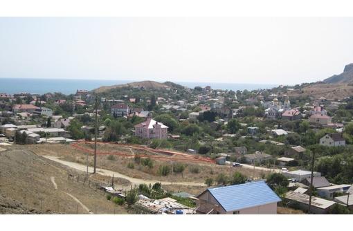 Земельный участок в пгт. Коктебель с видом на Чёрное море, фото — «Реклама Коктебеля»