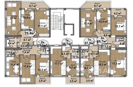 Продается 2-комнатная квартира, г. Симферополь, ул.Залесская, фото — «Реклама Симферополя»
