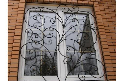 Решетки на окна и двери - изготовление, доставка, монтаж, фото — «Реклама Севастополя»
