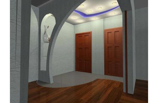 Монтаж гипсокартонных конструкций любой сложности, фото — «Реклама Керчи»