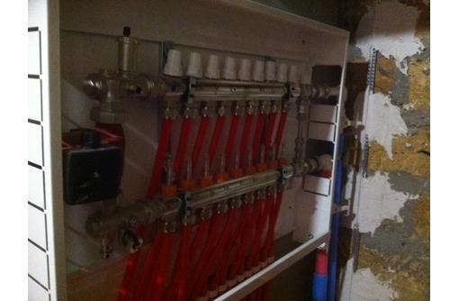 Монтаж системы отопления, теплого пола, водоснабжения, канализации, септика в Белогорске., фото — «Реклама Белогорска»