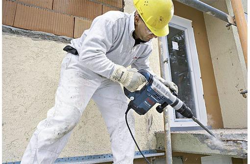 Демонтаж стен, бетона. Демонтажные работы. Алмазная резка бетона стен, фото — «Реклама Керчи»