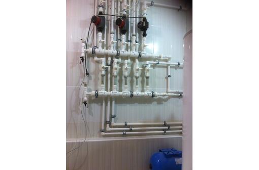 Установка сантехприборов. Монтаж отопления, водопровода, канализации, насосного оборудования., фото — «Реклама Бахчисарая»