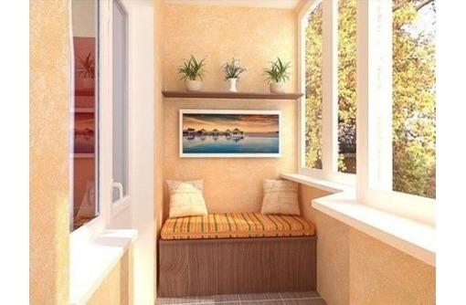 Отделка, обшивка, утепление балконов и лоджий под ключ, фото — «Реклама Керчи»