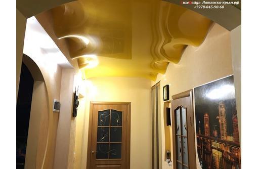 Волнообразные натяжные потолки LuxeDesign, фото — «Реклама Евпатории»