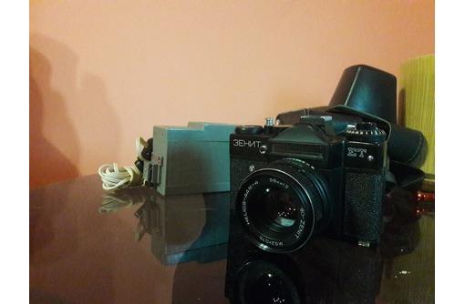 Продается Фотоаппарат Зенит ет с объективом Гелиос-44М, фото — «Реклама Севастополя»